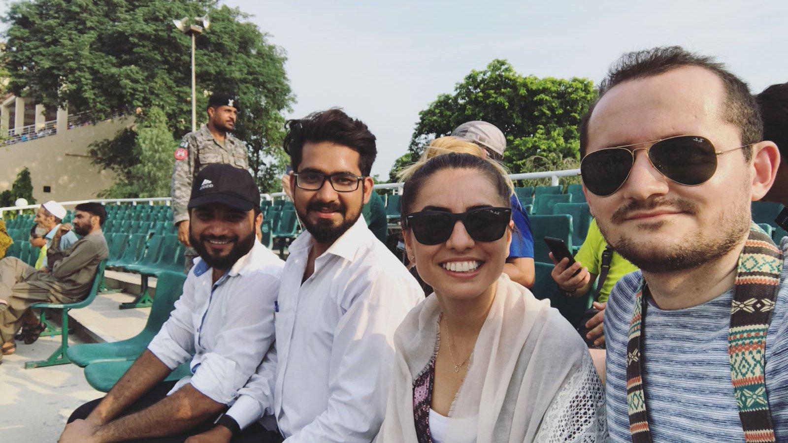 Wagha Border Crew