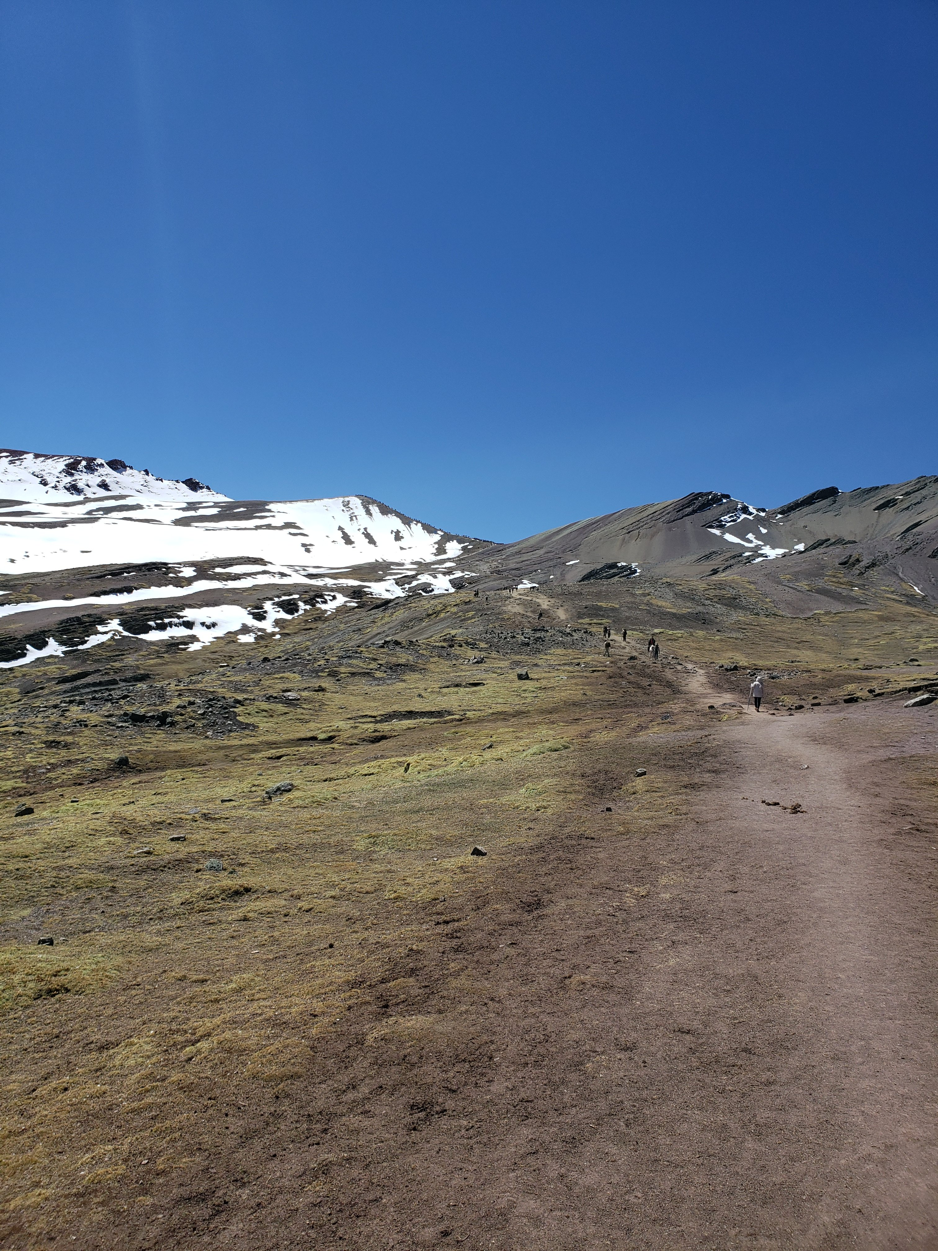 Rainbow Mountain Hike Beginning