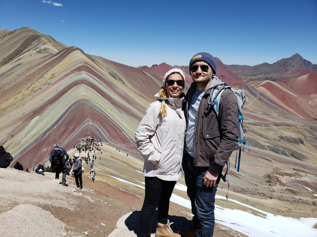 Rainbow Mountain With Yagmur