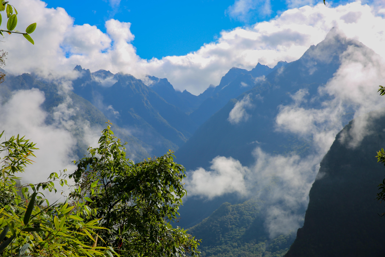 Machu Picchu hike view