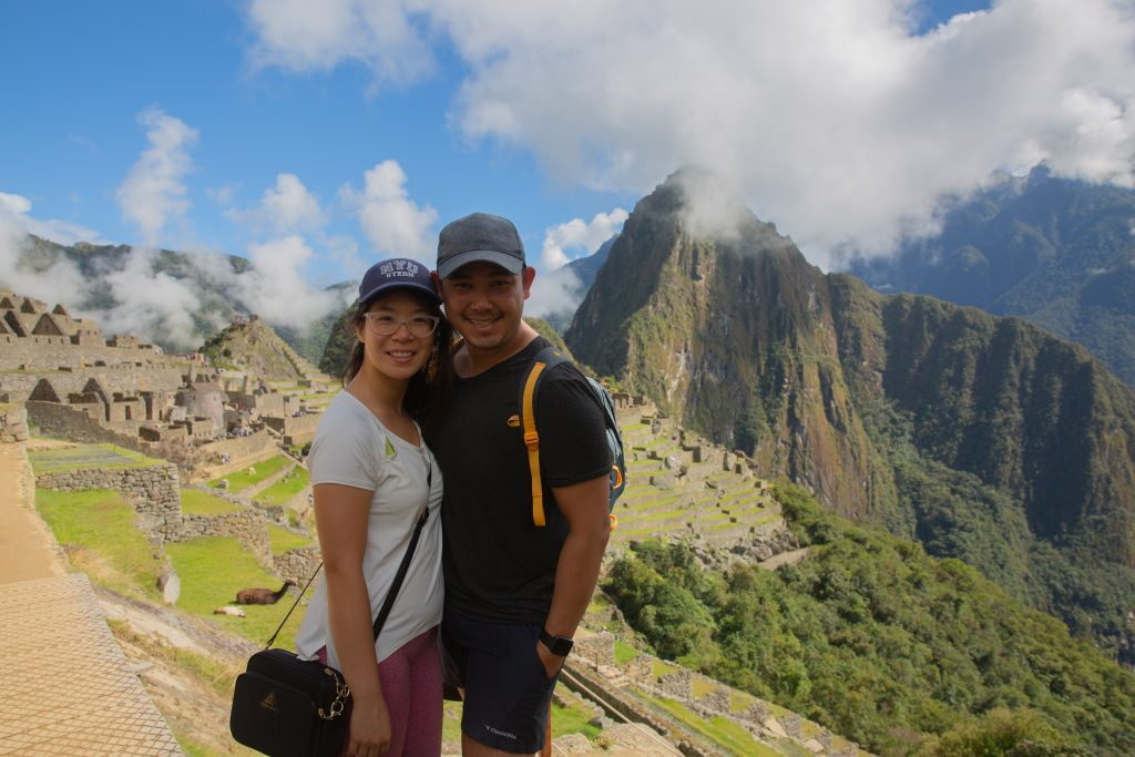 Machu Picchu Ron and Betty