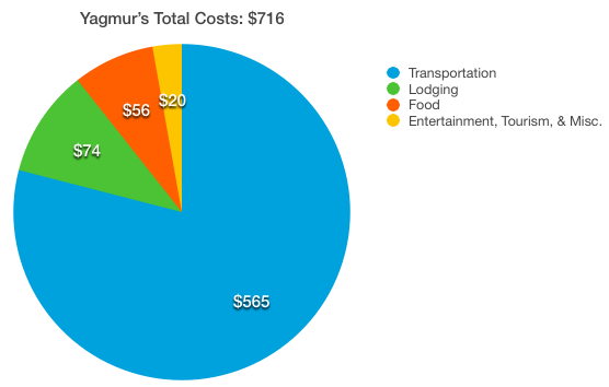 Total Yagmur Costs
