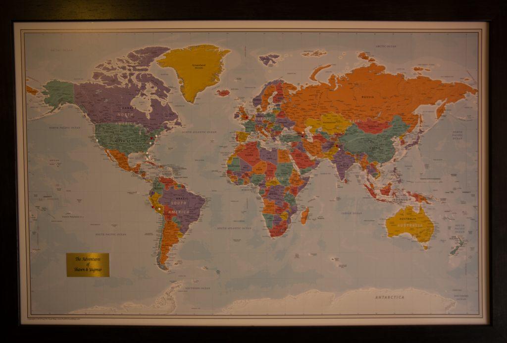 Yerevan World Map