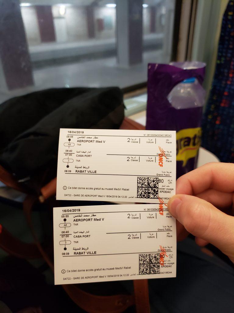 Casablanca Airport tickets